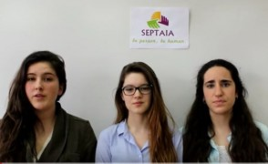 Nuestras alumnas en la final de  Social Innovation Relay